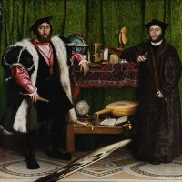 """The Ambassadors"" by Hans Holbein the Younger"