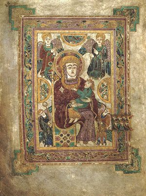 The earliest Western Madonna and Child, from t...