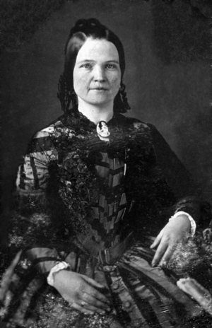 Mary Todd Lincoln, wife of Abraham Lincoln. Th...