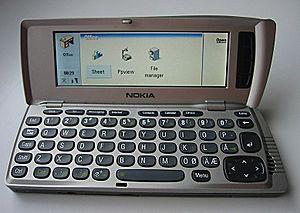 English: Nokia 9210 Communicator