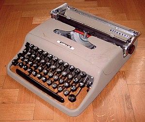 An Olivetti Lettera 22, circa 1950 designed by...