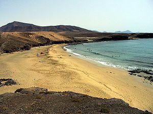 Papagayo Strand im Süden von Lanzarote