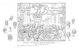 English: Zoologists meeting at the Zoological ...