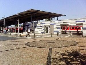 Rotenburg: Bahnhofsvorplatz, 24 km from Verden...