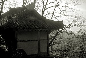 The hermitage of Zen master Seung Sahn where h...