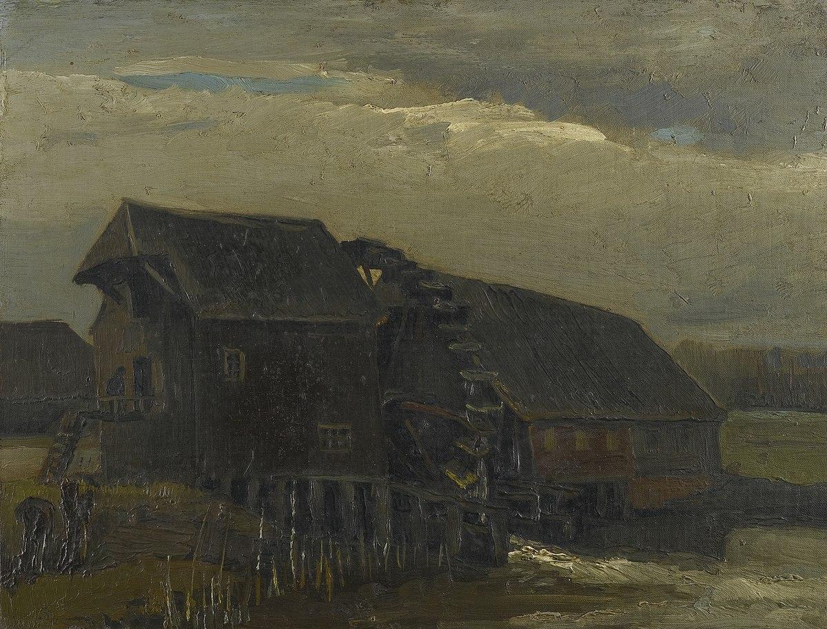 Water Mill At Opwetten Wikipedia