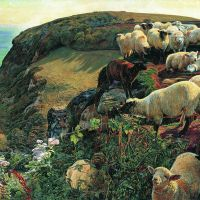"""Our English Coasts"" by William Holman Hunt"