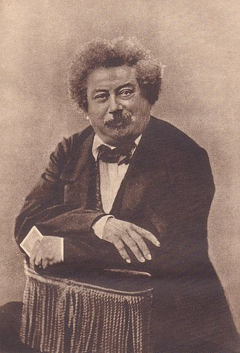 Alexandre Dumas, photo by Nadar.