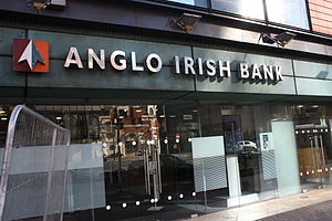 English: Anglo Irish Bank, Great Victoria Stre...