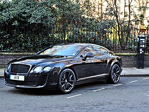 English: Bentley Continental GT Supersports, p...
