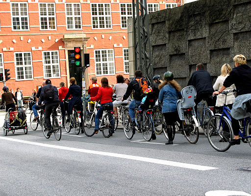 Bike culture in Copenhagen