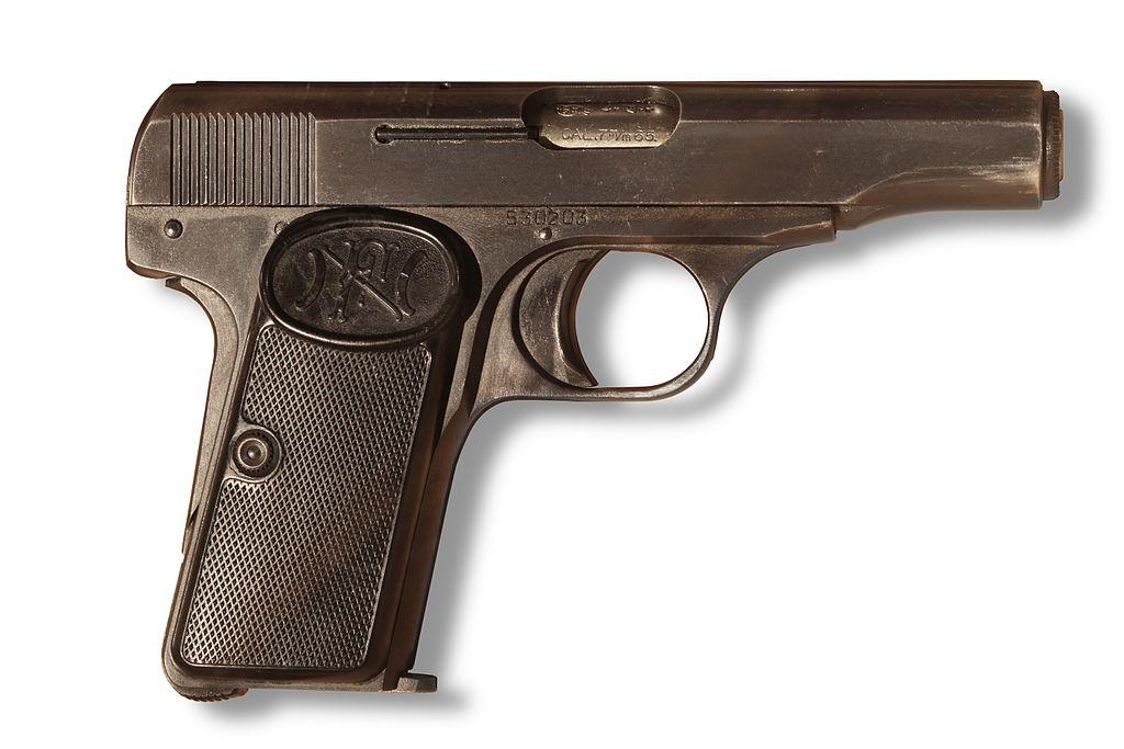 Gavrilo Princip's Browning FN 1910