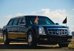 2009 Cadillac Presidential Limousine.