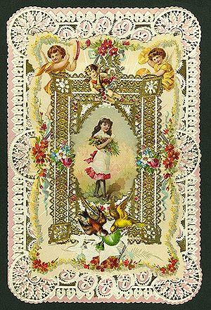 Greeting Card Valentine 1899