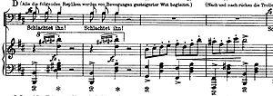 Peer Gynt Suite No.1, Op.46, début coda de In ...