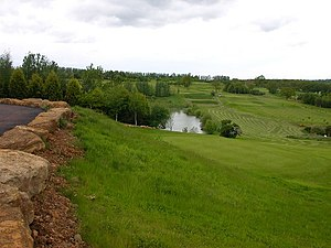 English: Hellidon Lakes Golf Course. Hellidon ...