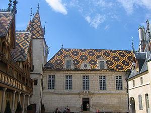 Hospices de Beaune, Bourgogne, France.