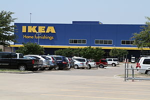 English: The IKEA store in Frisco, TX, USA.