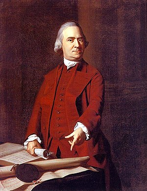 John Singleton Copley, Samuel Adams (1772)