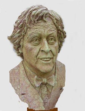 Ken Dodd: sculpted by Victor Heyfron, M.A. 2008