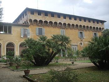 Villa Medicea di Careggi, the first of the Flo...