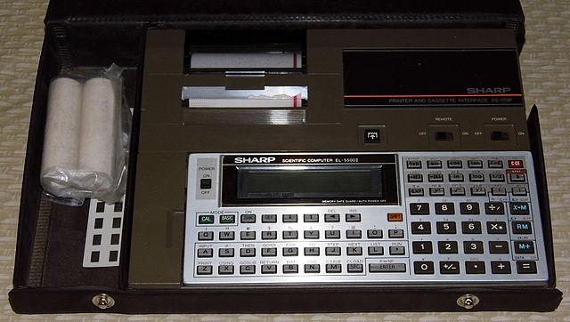 File Vintage Sharp Scientific Pocket Computer Calculator