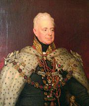 Camerons ancestor, King William IV (1765-1837)