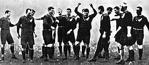 The 1905 Original All Blacks.