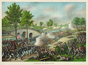 "English: ""Battle of Antietam. Army of the..."