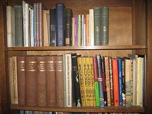 Nederlands: bookshelf
