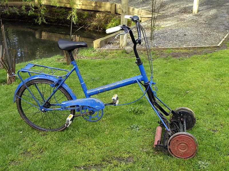 File:Cylinder mower bicycle.JPG