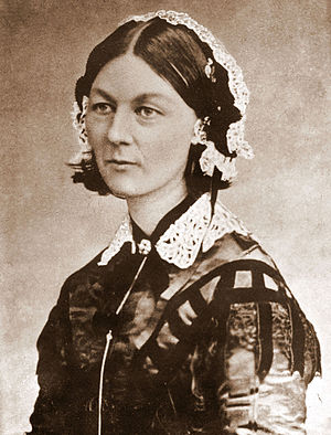 Florence Nightingale from Carte de Visite