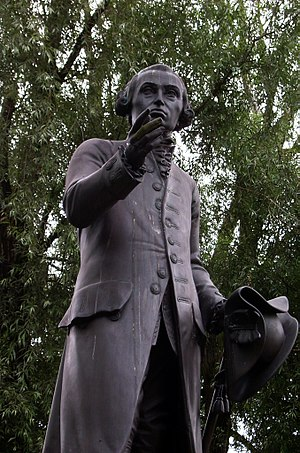 Statue of Immanuel Kant in Kaliningrad, Russia