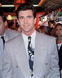 Mel Gibson en 1990.