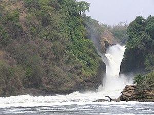Murchison Falls, downscaled version of File:Mu...