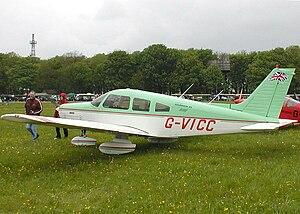 Piper PA-28 Cherokee Warrior II (G-VICC), phot...