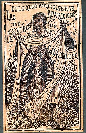 Etching by Jose Guadalupe Posada, depicting St...