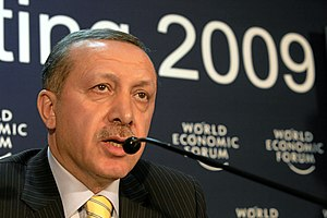 English: Recep Tayyip Erdogan, Prime Minister ...
