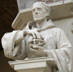 Roger Bacon (c1214-1294), statue (19th century...