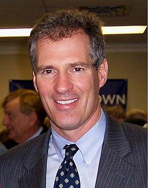 English: Scott Brown, Republican U.S. Senator ...
