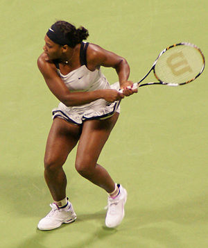 Serena Williams at the 2008 WTA Tour Championships
