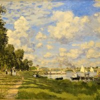 """The Basin at Argenteuil"" by Claude Monet"