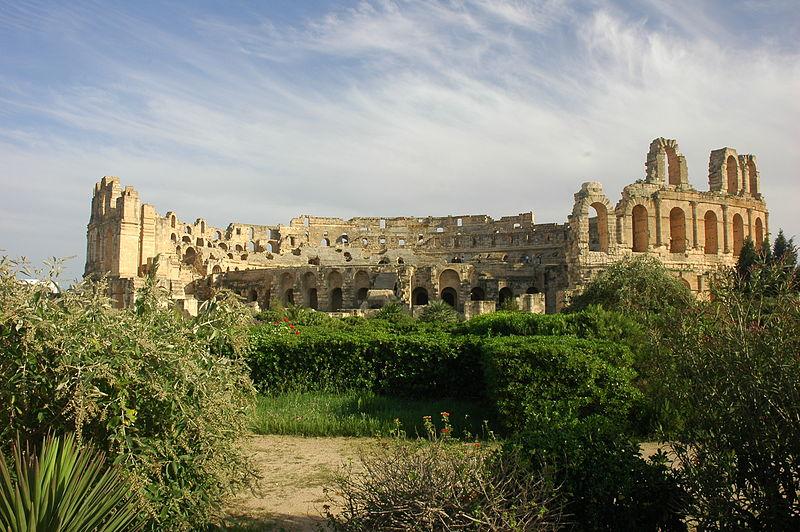Tunisie El Djem amphitheatre 09