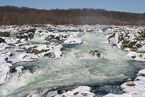 Great Falls of the Potomac River, Maryland Thi...