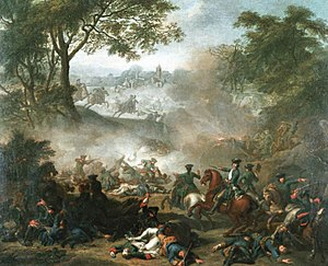 Battle of Lesnaya by Jean-Marc Nattier, 1717