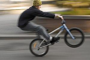 Bicycle motocross.
