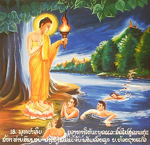Picture of the role or function of a Buddha: t...