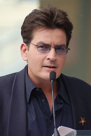 English: Charlie Sheen in March 2009.