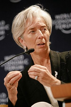 DAVOS/SWITZERLAND, 25JAN07 - Christine Lagarde...