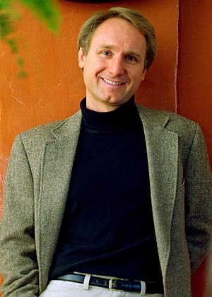 English: Dan Brown, bookjacket image.